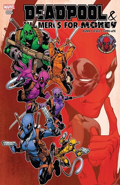 Deadpool & The Mercs For Money #6 (2017)
