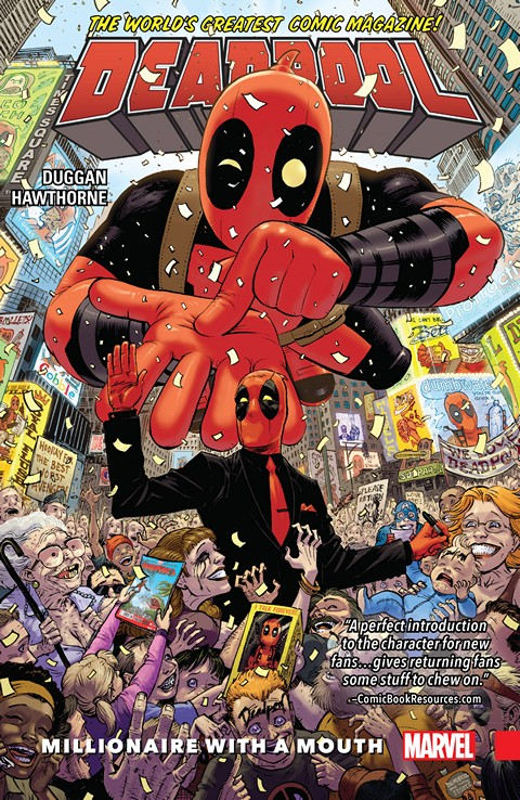 Deadpool Vol. 1 – World's Greatest – Millionaire With a Mouth (2016)