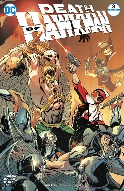Death of Hawkman #3 (2016)