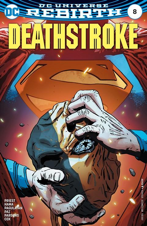 Deathstroke #8 (2016)