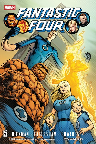 Fantastic Four By Jonathan Hickman Vol. 1 – 6 (2010-2013)