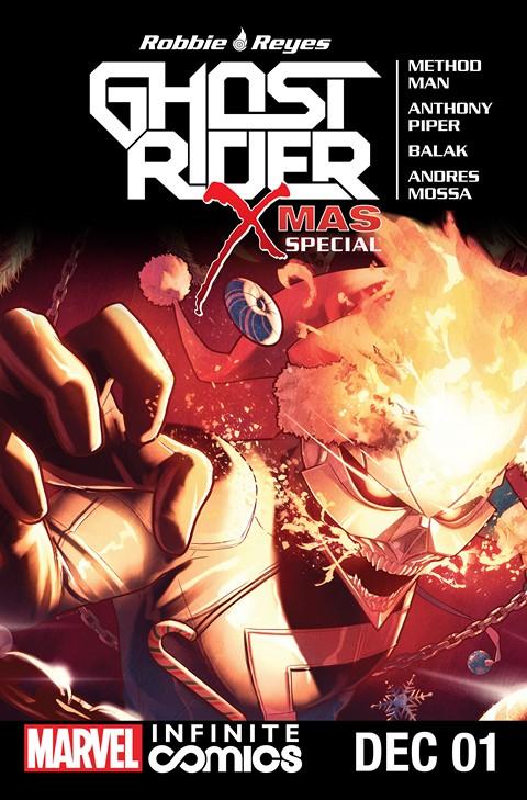 Ghost Rider X-Mas Special Infinite Comic #1 (2016)