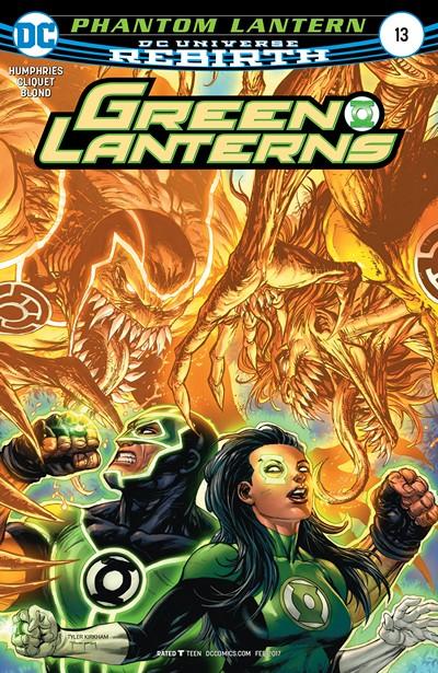 Green Lanterns #13 (2016)