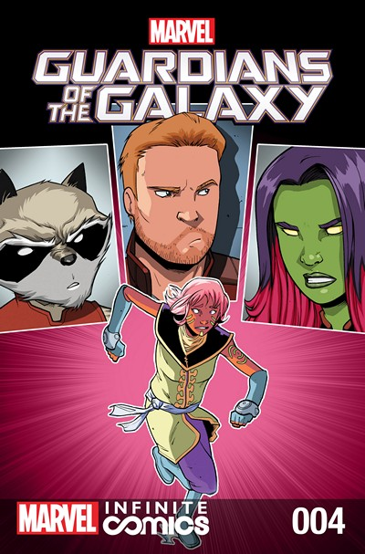 Guardians of the Galaxy – Awesome Mix Infinite Comic #4 (2016)
