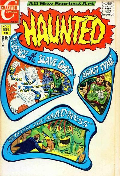 Haunted #1 – 75 (Charlton) (1971-1984)