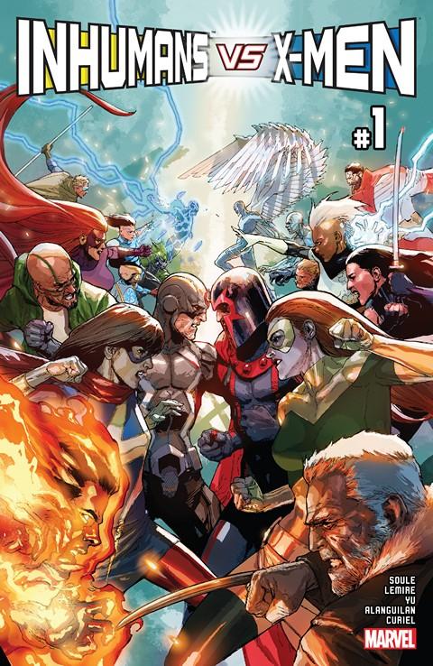 Inhumans vs. X-Men (IvX) #1 (2016)