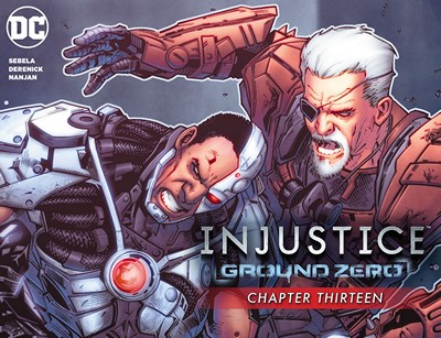 Injustice – Ground Zero #13 (2016)