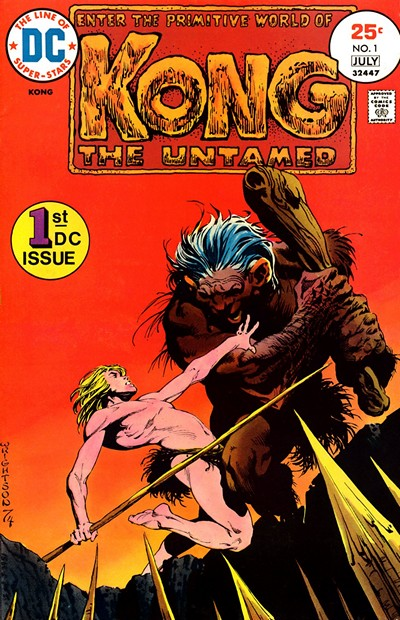 Kong The Untamed #1 – 5 (1975)