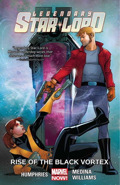 Legendary Star-Lord Vol. 2 – Rise Of The Black Vortex (2015)