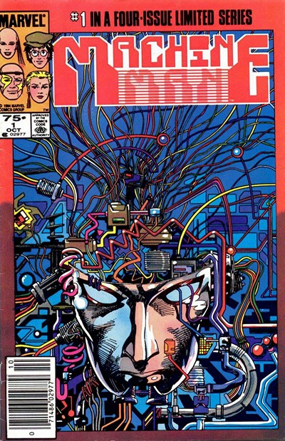 Machine Man #1 – 4 (1984-1984) + Machine Man 2020 #1 – 2 (1994)