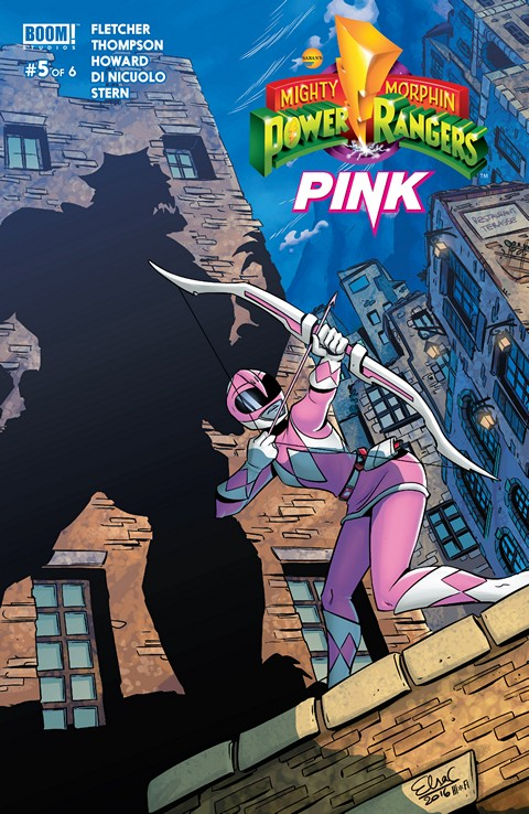 Mighty Morphin Power Rangers – Pink #5 (2016)