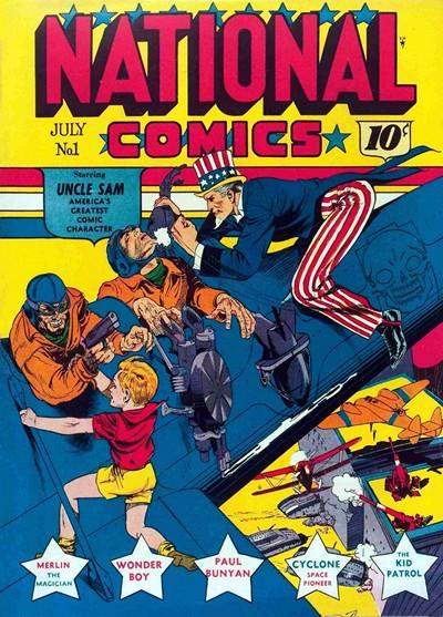 National Comics #1 – 75 (1940-1949)