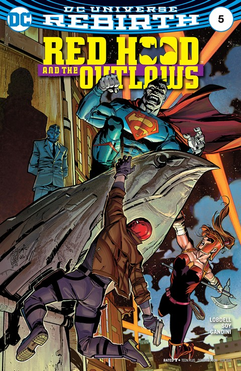 Red Hood & the Outlaws #5 (2016)