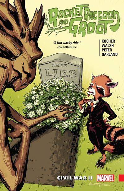 Rocket Raccoon and Groot Vol. 2 – Civil War II (2016)