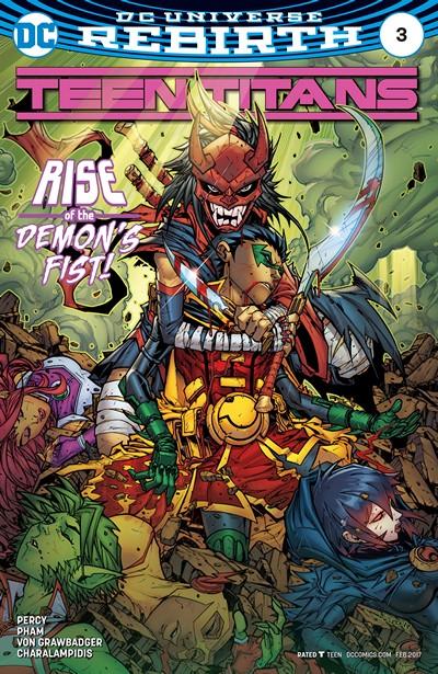 Teen Titans #3 (2016)
