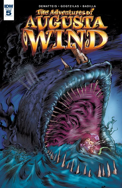The Adventures of Augusta Wind – The Last Story #5 (2016)