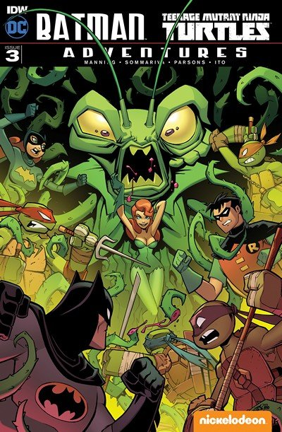 Batman – Teenage Mutant Ninja Turtles Adventures #3 (2017)