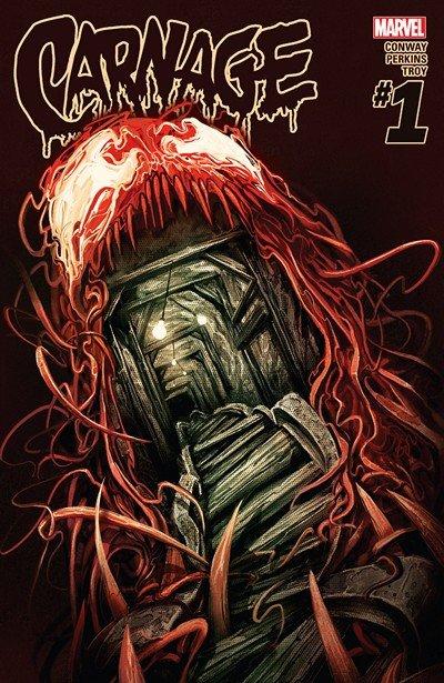 Carnage #1 – 16 + TPB Vol. 1 – 3 (2016-2017)