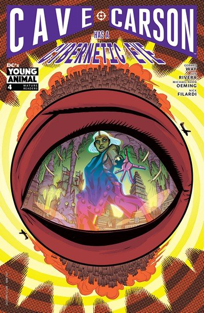 Cave Carson Has a Cybernetic Eye #4 (2017)