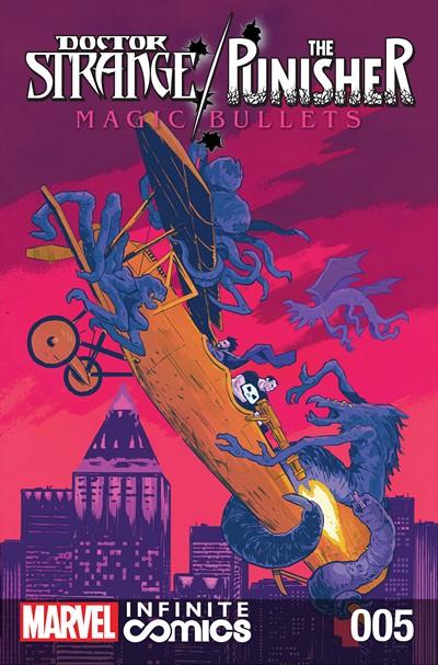 Doctor Strange – The Punisher – Magic Bullets Infinite Comic #5 (2017)