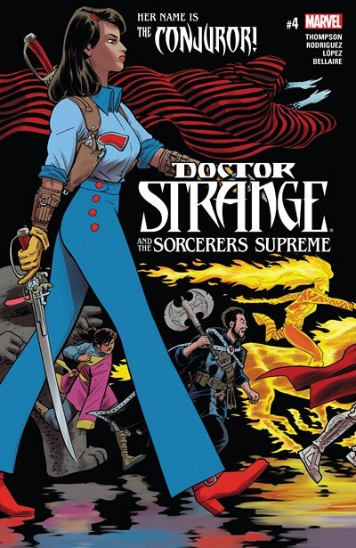 Doctor Strange and the Sorcerers Supreme #4 (2017)
