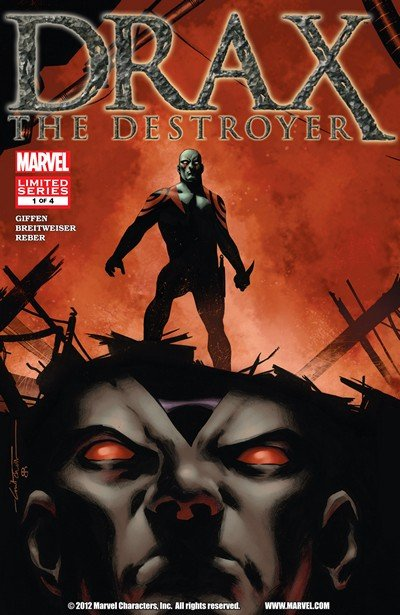 Drax the Destroyer #1 – 4 (2005-2006)