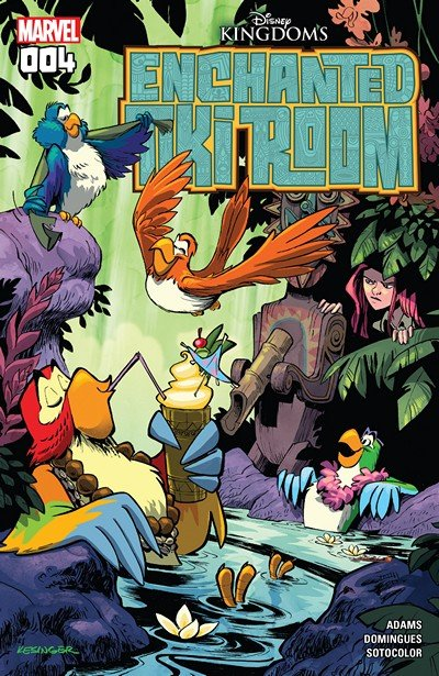 Enchanted Tiki Room #4 (2017)