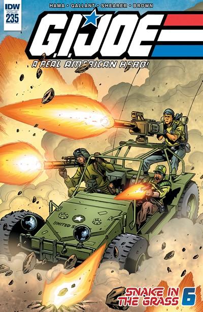 G.I. Joe – A Real American Hero #235 (2017)