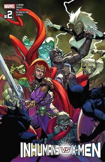 Inhumans vs. X-Men (IvX) #2 (2017)