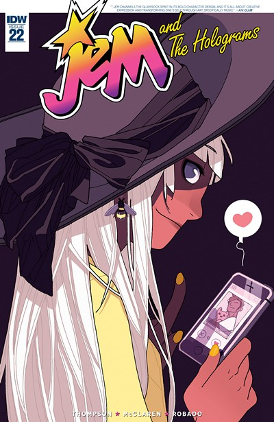 Jem and the Holograms #22 (2017)