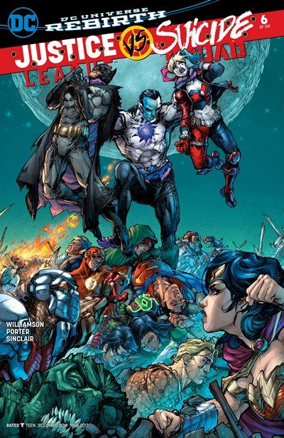 Justice League vs. Suicide Squad #6 (2017)