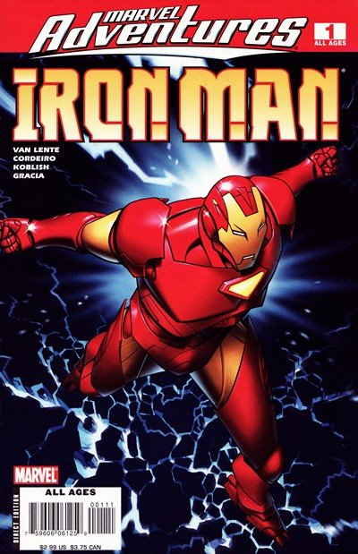 Marvel Adventures – Iron Man #1 – 13 (2007-2008)