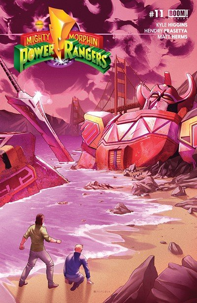 Mighty Morphin Power Rangers #11 (2017)