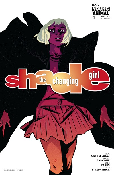 Shade – the Changing Girl #4 (2017)