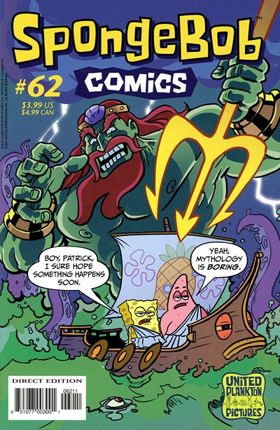 SpongeBob Comics #62 (2016)