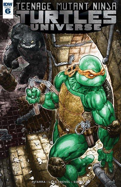 Teenage Mutant Ninja Turtles Universe #6 (2017)