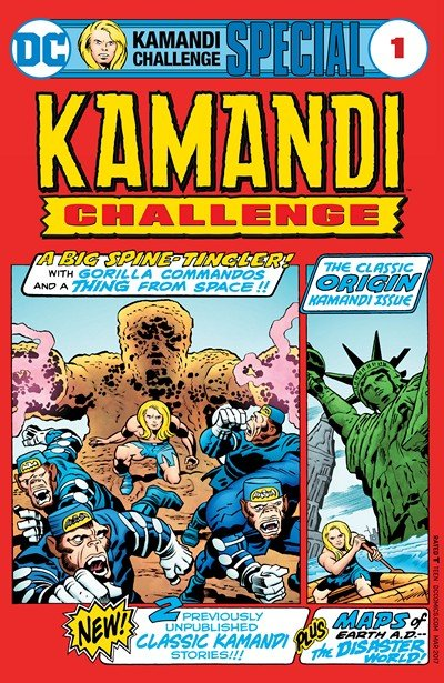 The Kamandi Challenge Special #1 (2017)