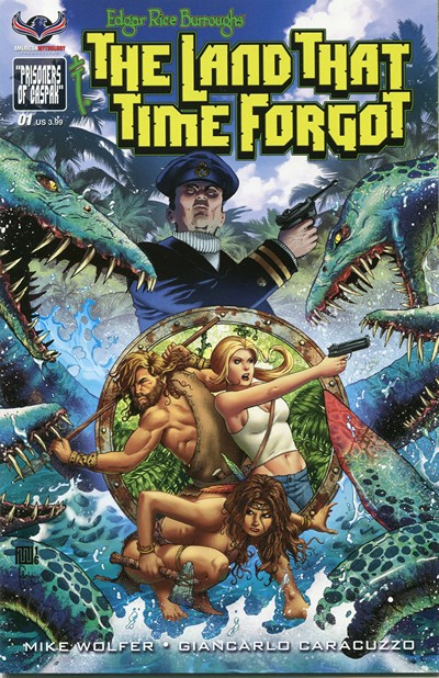 The Land that Time Forgot #1 – 3 (2016)