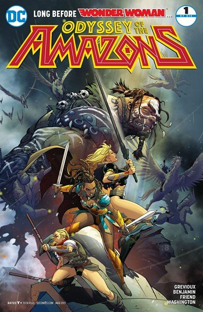 The Odyssey of the Amazons #1 (2017)
