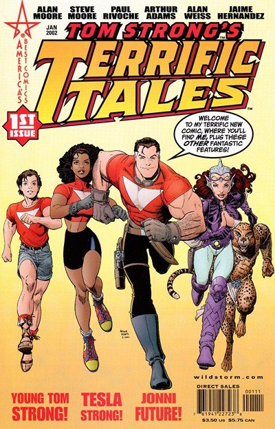 Tom Strong's Terrific Tales #1 – 12 (2002-2005)