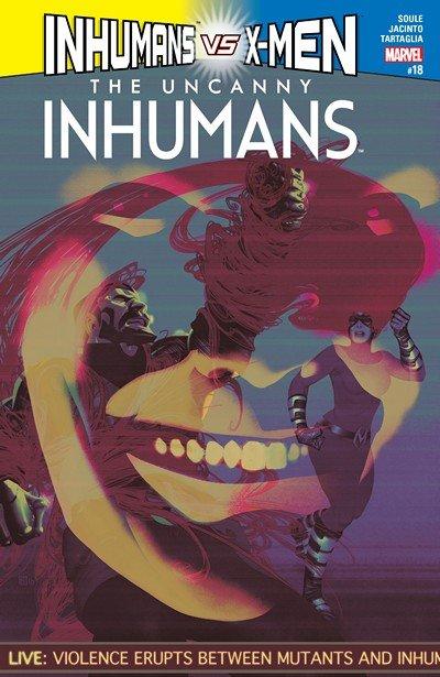Uncanny Inhumans #18 (2017)