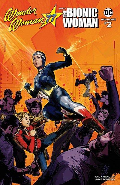 Wonder Woman '77 Meets The Bionic Woman #2 (2017)