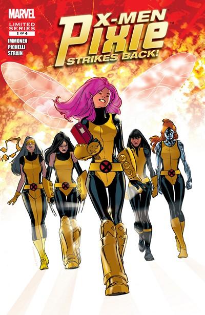 X-Men – Pixie Strikes Back #1 – 4 (2010)