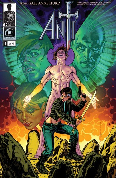 Anti #1 – 4 (12 Gauge Comics) (2012)