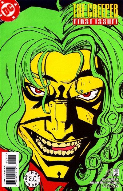 Creeper Vol. 1 #1 – 11 + 1,000,000 (1997-1998)