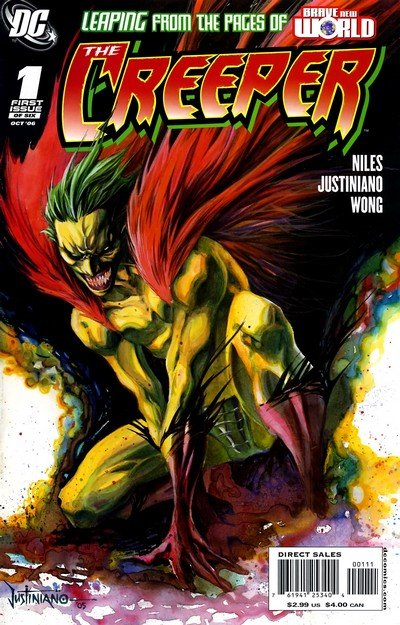 Creeper Vol. 2 #1 – 6 (2006-2007)