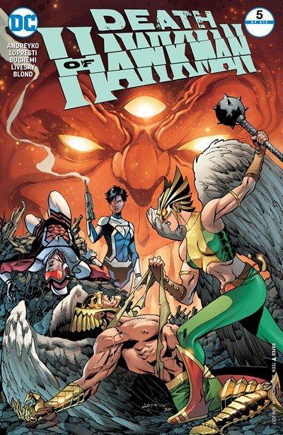 Death of Hawkman #5 (2017)