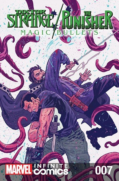 Doctor Strange – The Punisher – Magic Bullets Infinite Comic #7 (2017)