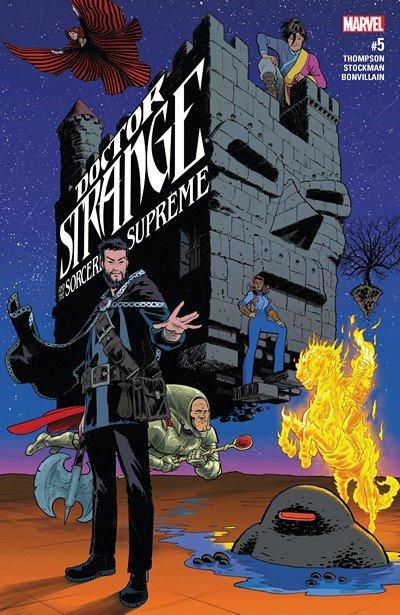 Doctor Strange and the Sorcerers Supreme #5 (2017)