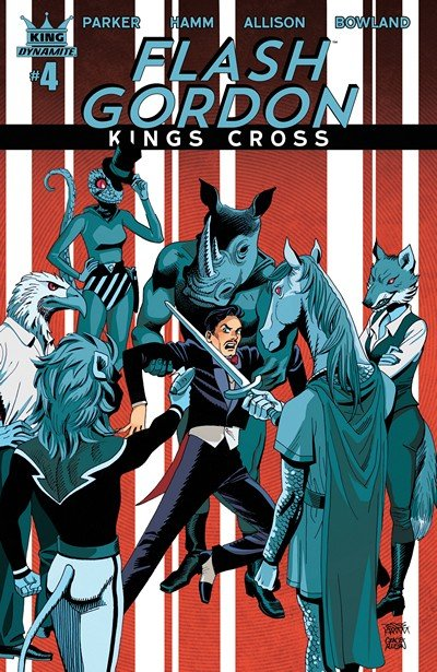Flash Gordon – Kings Cross #4 (2017)